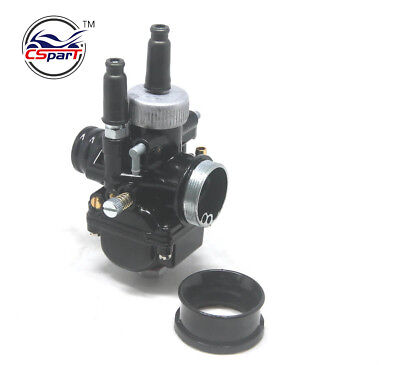 Racing Carburetor 17mm 19mm 21mm Carb For Dellorto PHBG DS Black