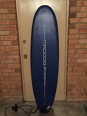 Softboard Surfboard and Wetsuit