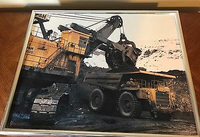 Caterpillar CAT 2 Professionally Shot, Framed Pictures Mining Truck, Army Grader