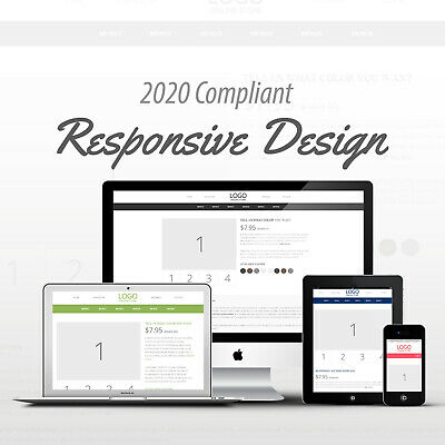 2018 Compliant Mobile Responsive Ebay Auction Listing Template Pick Your Color