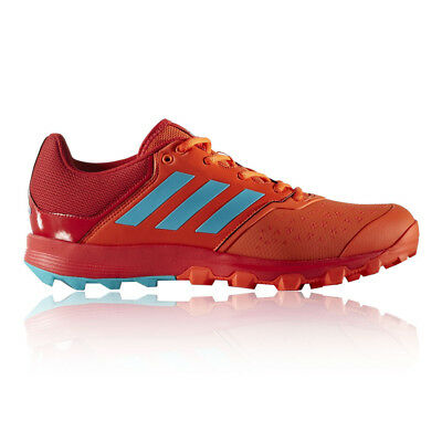Adidas Flex Cloud Mens Red Hockey Court Sport Shoes Trainers Pumps Sneakers