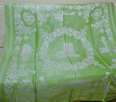 Vintage Damask Tablecloth Royal Residence
