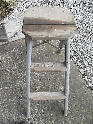 Vintage Peter Pan Antique Step Ladders (Look At Photos)