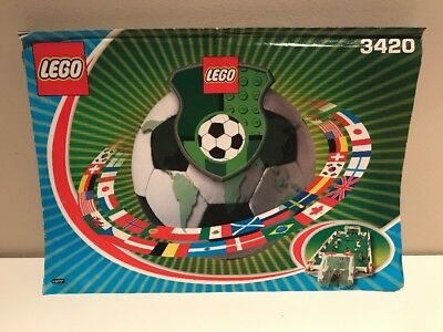 Lego Soccer   3420   Championship   Instructions Only