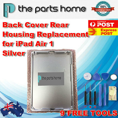 Back Cover Rear Housing Replacement for iPad Air 1 Silver+ Free Postage