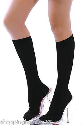 Sexy Sheer Black Knee High Stockings/Socks - Great for Dress Up or a Night Out