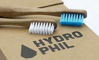 bamboo toothbrush for kids & adults, high quality, vegan biodegradable Hydrophil