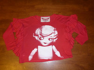 Girls Paperwings/ Paper wings kewpie doll top. Size 6. EUC.