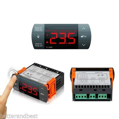 Digital Thermostat All-Purpose Aquarium Temperature Controller Cool/Heating UK