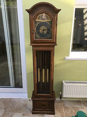 Grandmother Longcase Clock by Interclock with Westminster Chimes