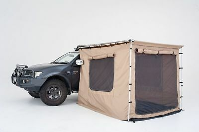 AWNING + TENT / ROOM 4x4 4WD CANVAS 2M X 2.5M ANNEX RIPSTOP MELBOURNE METRO ONLY