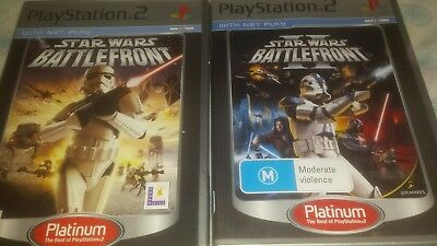 Star Wars Battlefront Double Ps2 Pal