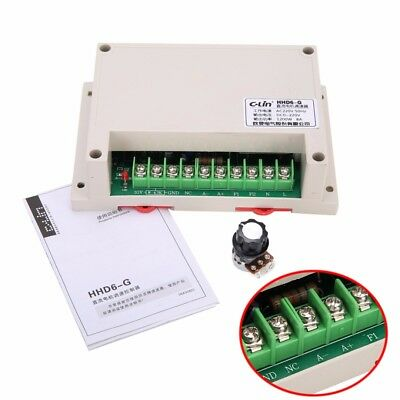 Input AC 220V Output DC 0-220V Motor Speed Controller Max Power 1200W -10~+65℃