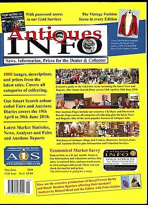 Antiques Info Magazine: May/June 2010: News, Info, Prices for Dealer & Collector
