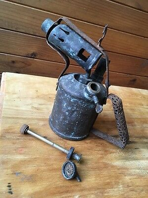 Vintage Primus Copper & Metal Blowtorch No 12632