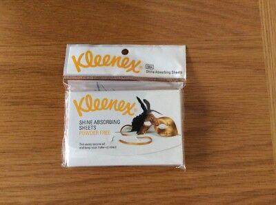 Kleenex Shine Absorbing Sheets 1 Pack 50 Sheets BNWT
