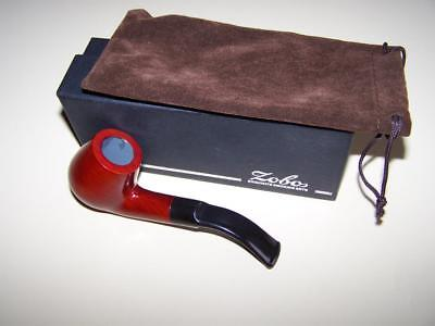 Zobos pipe Royale model tobacco smoking pipe with bag in box New Never Used