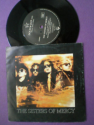THE SISTERS OF MERCYDoctor Jeep  EU 45 1990 Goth Rock