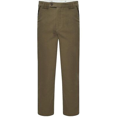 Deacon by Harvey Parker Mens Premium Smart Country Moleskin Trouser Chino