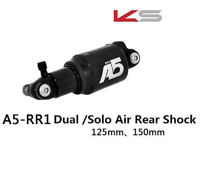 New KS A5 RR1 Dual /Solo Air Rear Shock A5-RE 125/150mm Kind Shock Kindshock