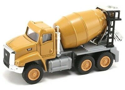 Toy State Industrial HO CAT39515 Caterpillar CT660 Cement Mixer (1:90 Scale)