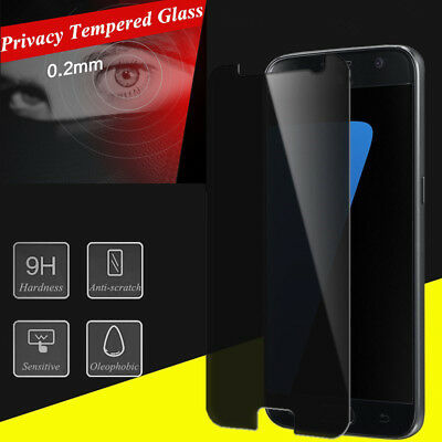 Anti-Glare Tempered Glass Full Cover Screen Protector Film For Samsung Galaxy S7