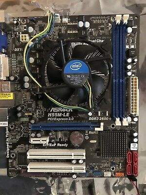 i7 870 CPU & ASRrock H55m-LE Motherboard