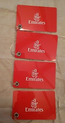 Emirates Official Baggage tags.