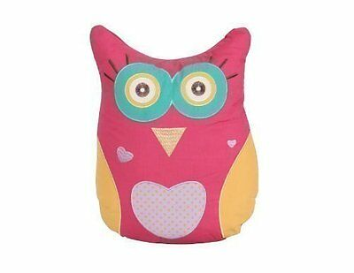 Owl shaped(33 x 40cm) Filled Childrens/Kids Cushion