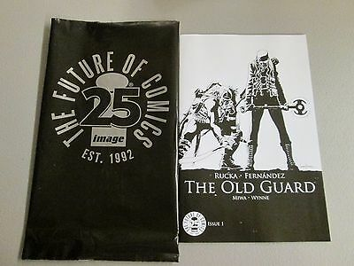 Image Comics 25Th Anniversary Blind Box Old Guard 1 Black And White Variant