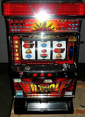 Pachislo Wild Wolf Slot Machine / 200 Tokens / 285 Page Manual