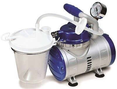 John Bunn Medical Heavy Duty Home Suction Pump Vacuum Machine JB0112-016 ~NEW~