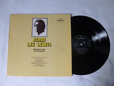 Jerry Lee Lewis ~ There Must Be More To Love Than This Uk Vinyl Lp ~ Great Audio