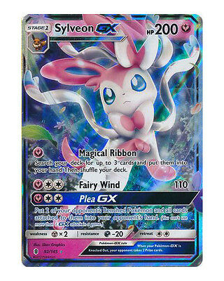 Sylveon GX - 92/145 - Ultra Rare - Mint - Guardians Rising