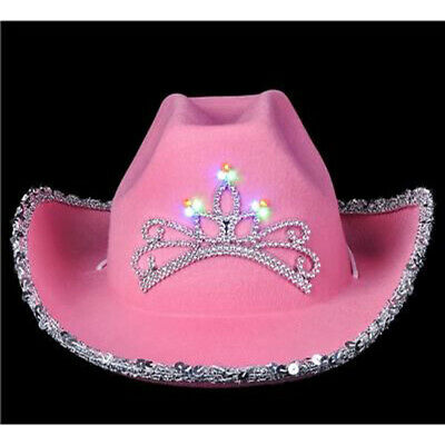 Child Size Light-Up Cowgirl Hat Child Cowboy Cowgirl Hat