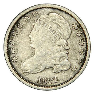 1831 Bust Dime - Bold Vf Very Fine Priced Right!