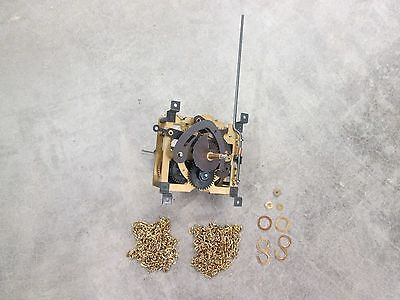 NEW 30 Hour Regula Cuckoo Clock Movement 25-M,  Chains, Hooks, Stoppers Hand Nut