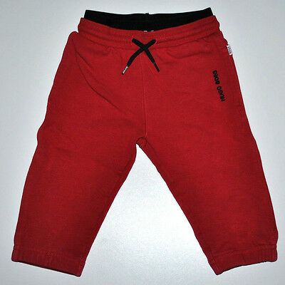 Hugo Boss Baby Boy Red Pants Joggers Trousers 12 Months 74Cm