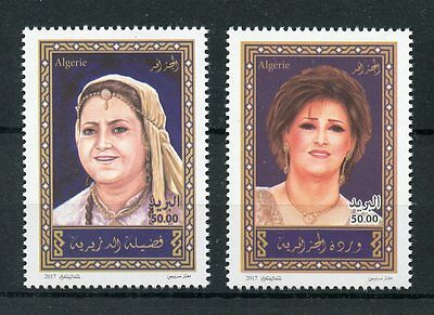 Algeria 2017 MNH National Artists Day 2017 2v Set Art People Stamps