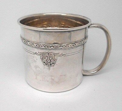 Antique TOWLE Sterling Silver EMBOSSED BABY/ CHILD CUP - 78.4 g