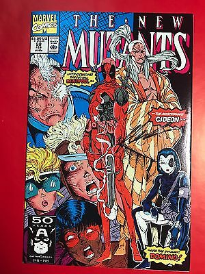 New Mutants 98 (1991) | 1st Appearance Of Deadpool! - Signed by Rob Liefeld