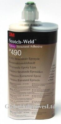 3M DP490 Epoxy Adhesive Black 400ml High temp resist EXPIRE DATE: 27.05.2022 UK