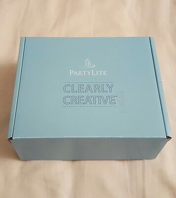 PartyLite CC CLEARLY CREATIVE  VOTIVE HOLDER DECORATING KIT