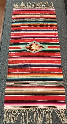 Vintage Wall Art Weaving Handcrafted Table Runner
