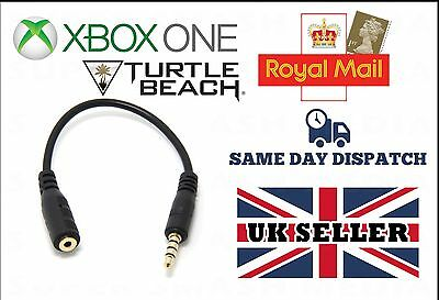 Xbox One Stereo Chat Controller Adapter For Turtle Beach Gaming Headset - New