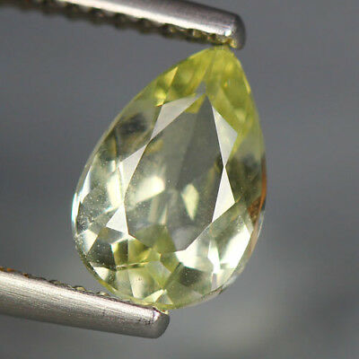1.10 Cts_Glittering Top Fire & Luster_100 % Natural Lime Yellow Beryl_Brazil