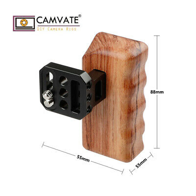 CAMVATE Wood Wooden Handle Grip Left for Panasonic GH DV Video
