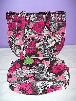 Collectible Marked Vera Bradley Bags Mocha Rouge Lot Of 2