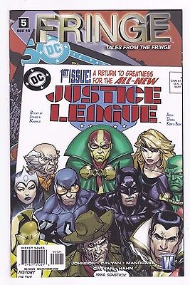 Fringe Tales from the Fringe #5 Variant Justice League 1 Swipe NM