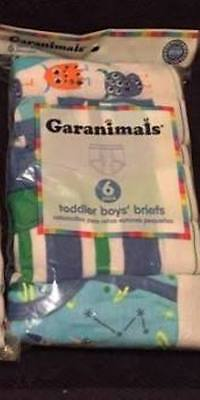 Garanimals Boys Toddler Briefs Size 4T; Total 12 Pairs